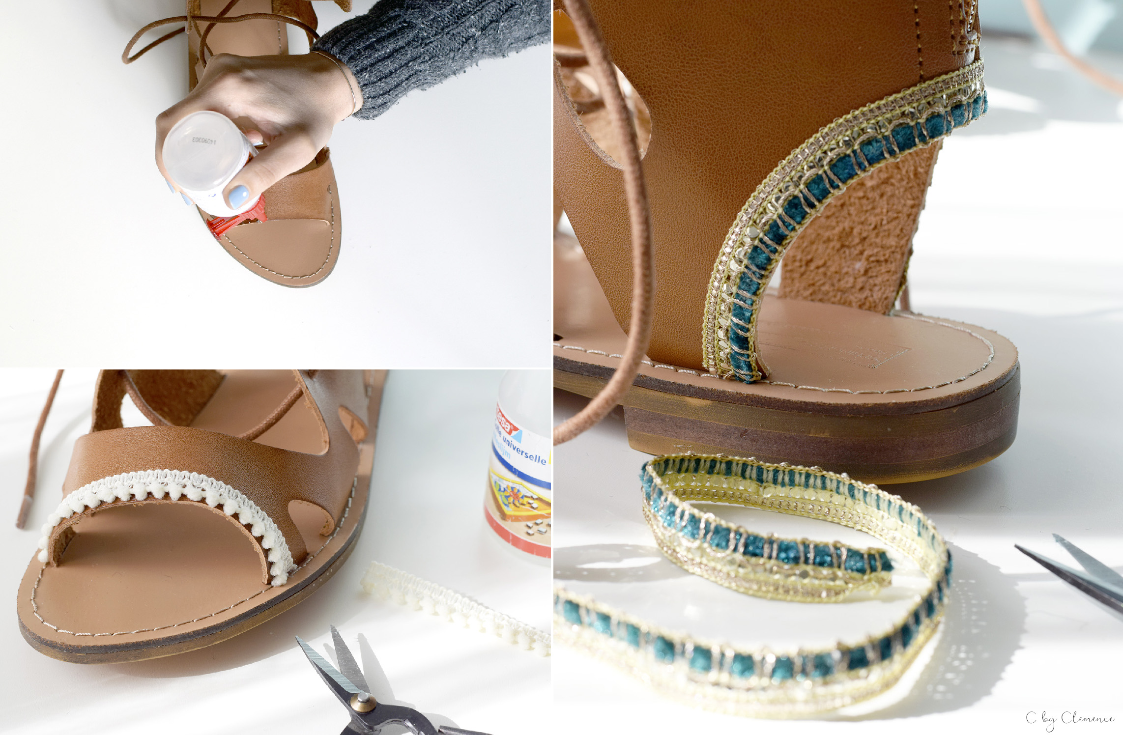 DIY CHAUSSURES BOHO cbyclemence.com 02