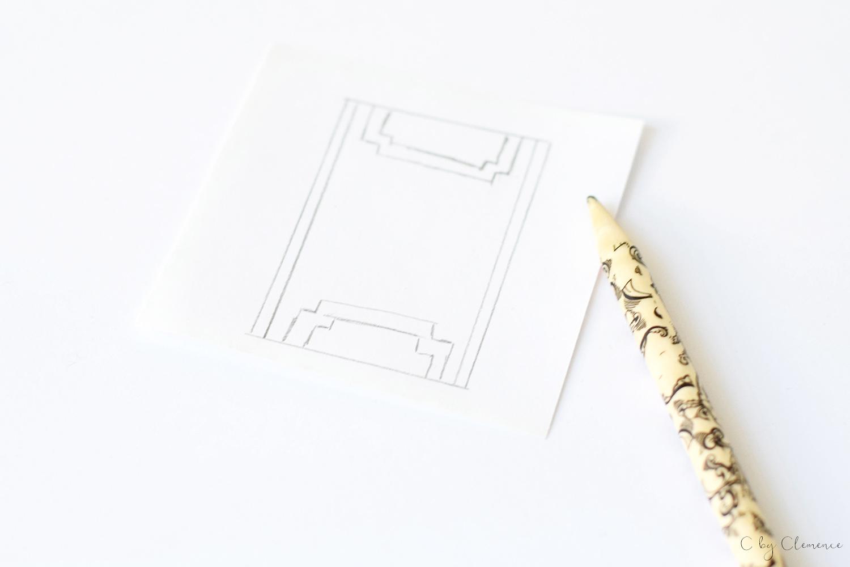 DIY MIROIR ART DECO cbyclemence.com 03
