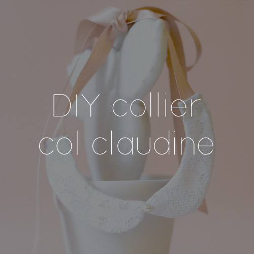 49 DIY COL CLAUDINE