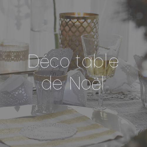 52 DECO TABLE NOEL