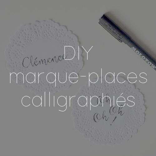 54 MARQUE PLACES CALLIGRAPHIES