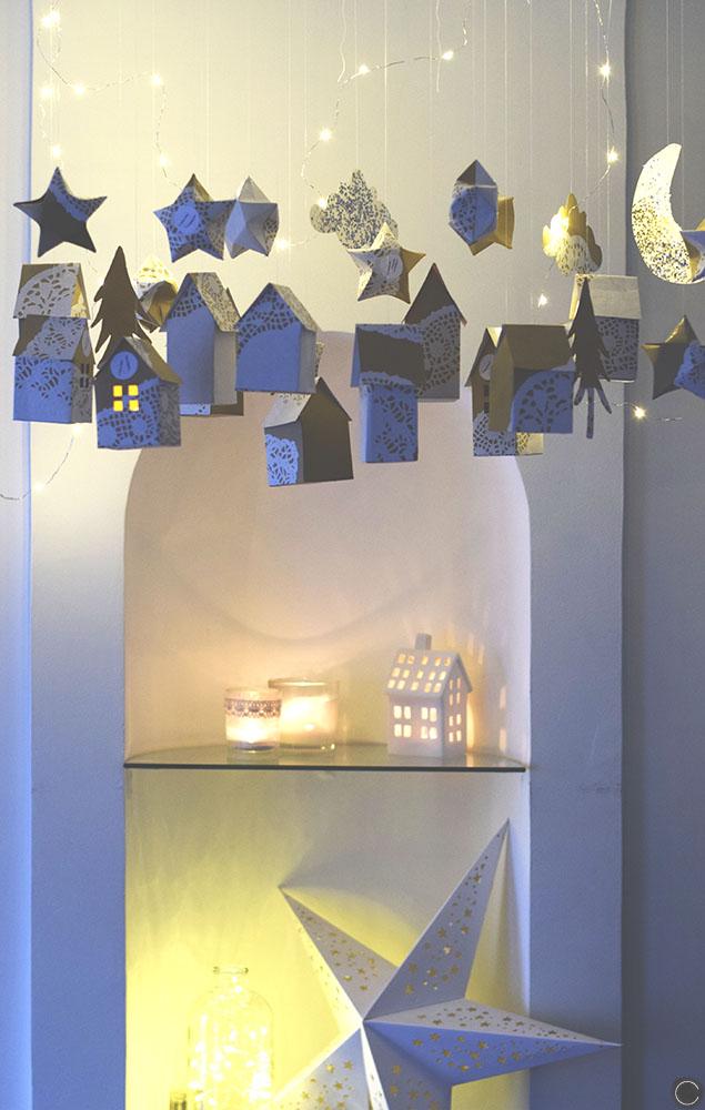 fabriquer un calendrier de l 39 avent anniversaire enfant. Black Bedroom Furniture Sets. Home Design Ideas