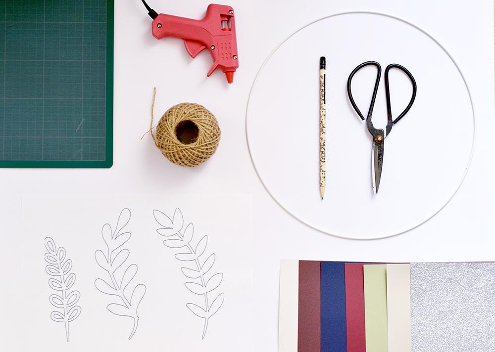 DIY COURONNE FLEURS CSF cbyclemence.com 01