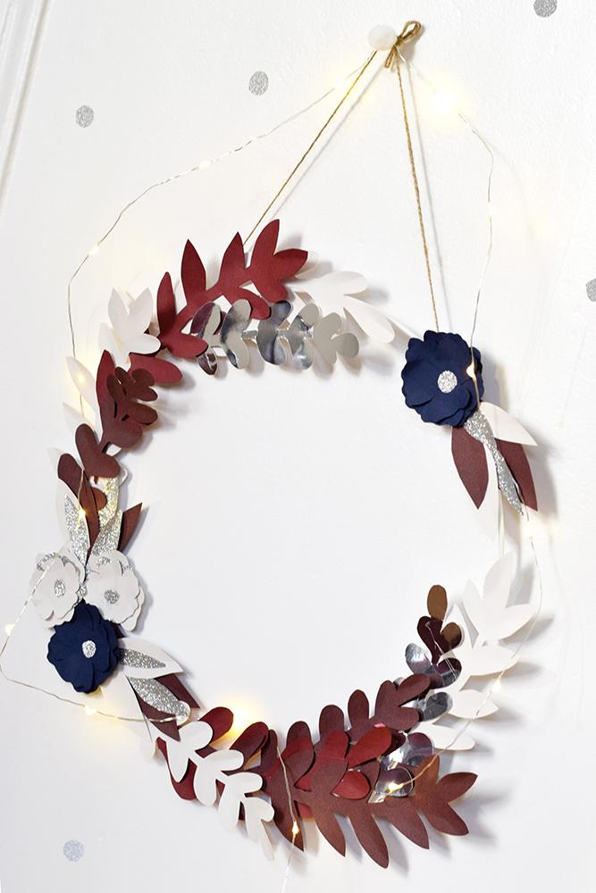 DIY pour CSF #1 : la couronne de fleurs en papier - C by ...
