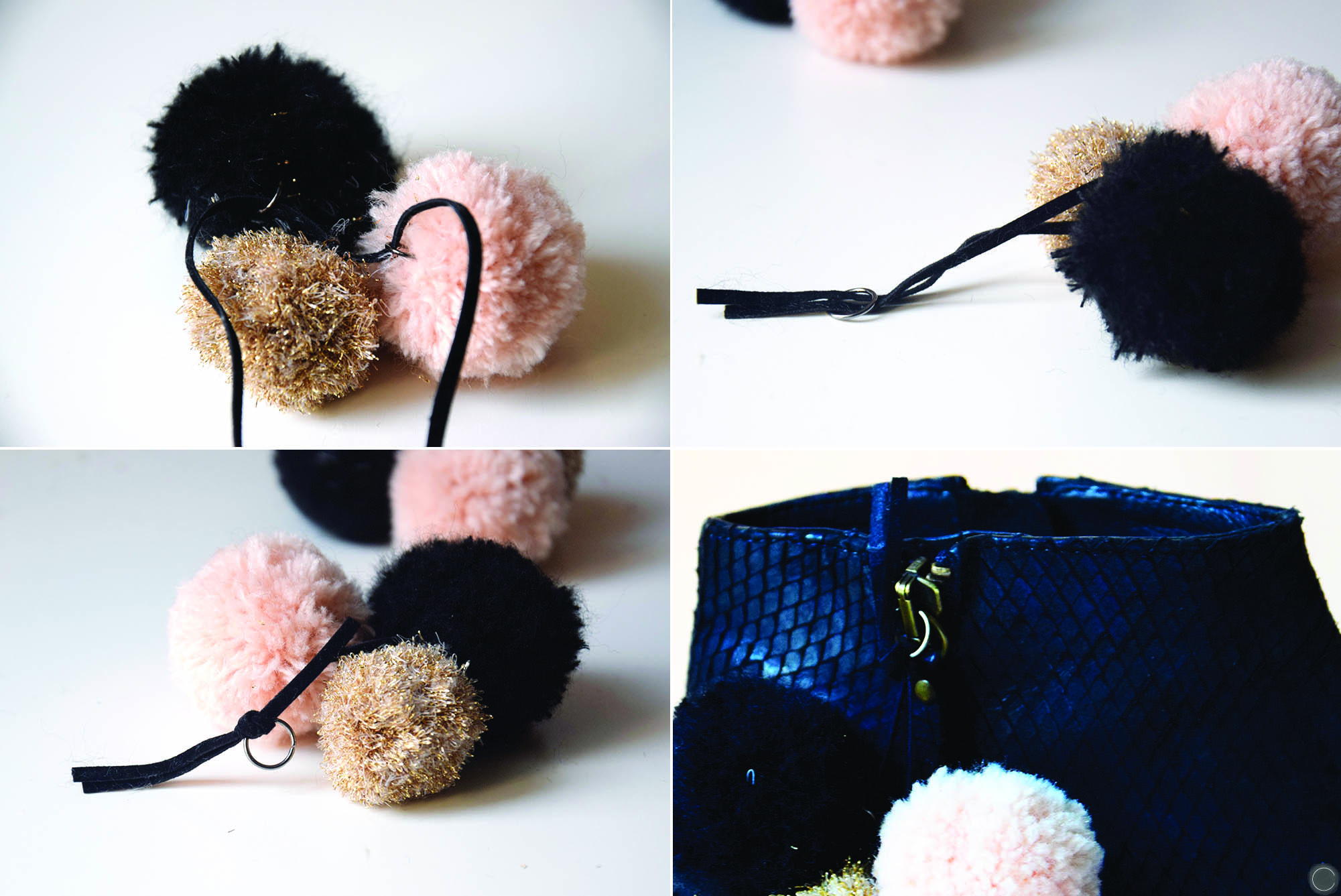 DIY POMPONS CHAUSSURES cbyclemence.com 04