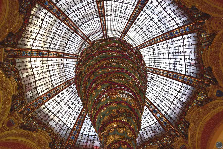 Promenade a Paris - Galeries Lafayette (3)