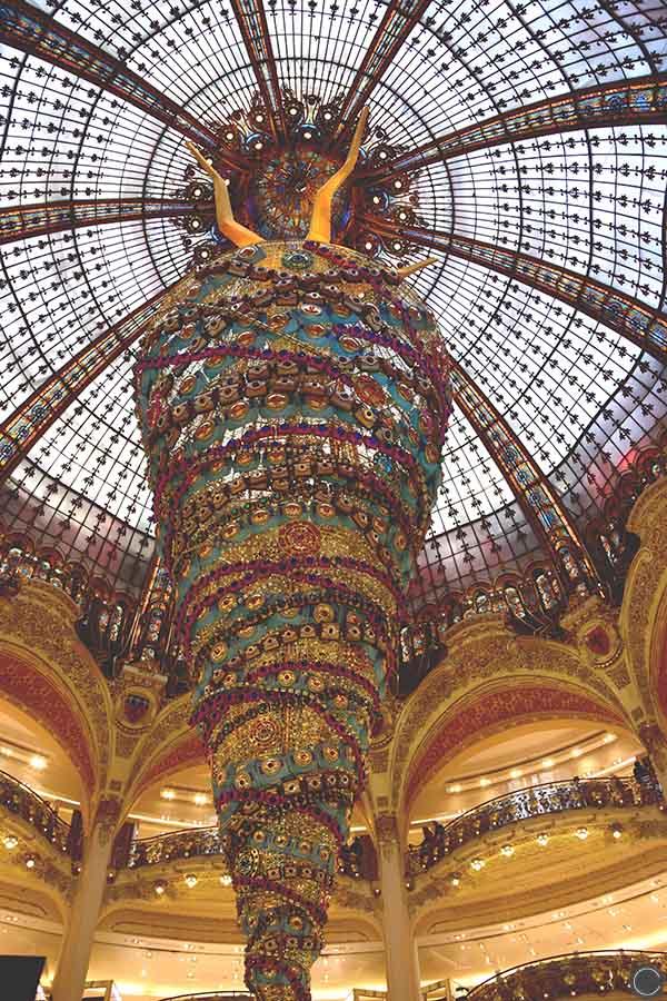 Promenade a Paris - Galeries Lafayette (4)