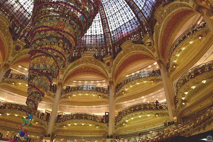 Promenade a Paris - Galeries Lafayette (5)