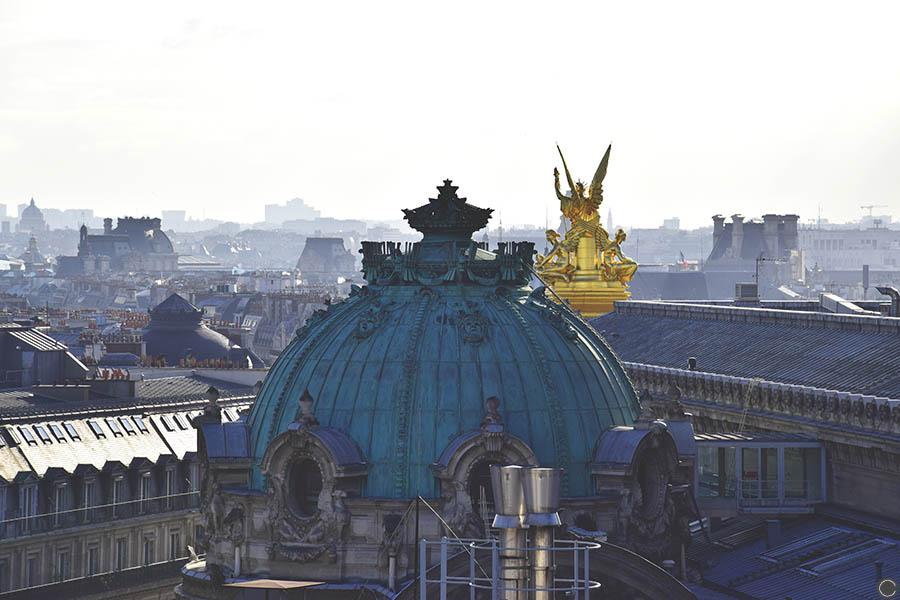 Promenade a Paris - toit Galeries Lafayette (4)