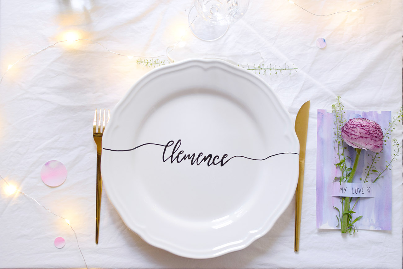 DIY ASSIETTE CALLIGRAPHIE cbyclemence.com 08