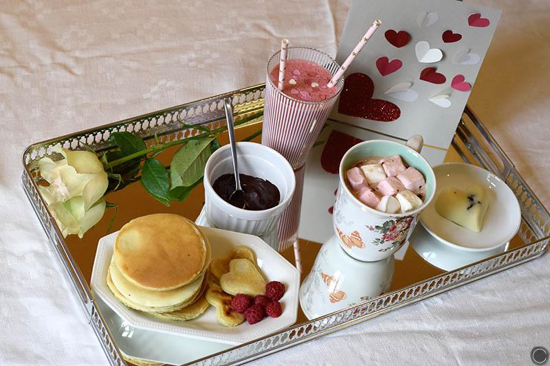 Diy 13 Un Petit Déjeuner De Saint Valentin C By Clemence