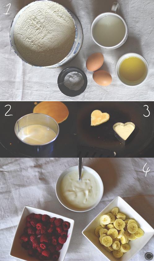 Preparation petit dejeuner