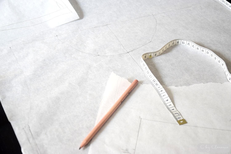 DIY TEE SHIRT EN VELOUR www.cbyclemence.com 02