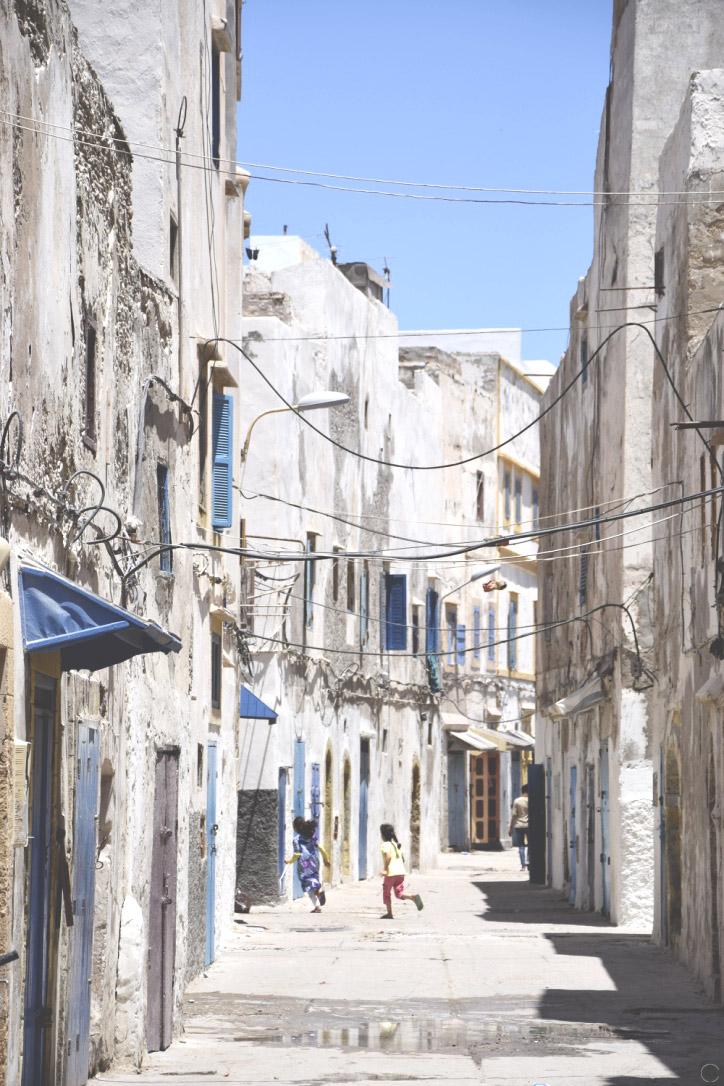 Les ruelles d'Essaouira - C by Clemence