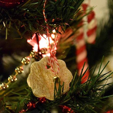 DIY #7 // Déco de Noël : Des suspensions en pâte à sel