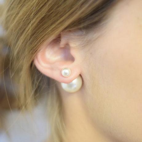 DIY #12 // Bijoux : des boucles d'oreilles façon «Mise en Dior»