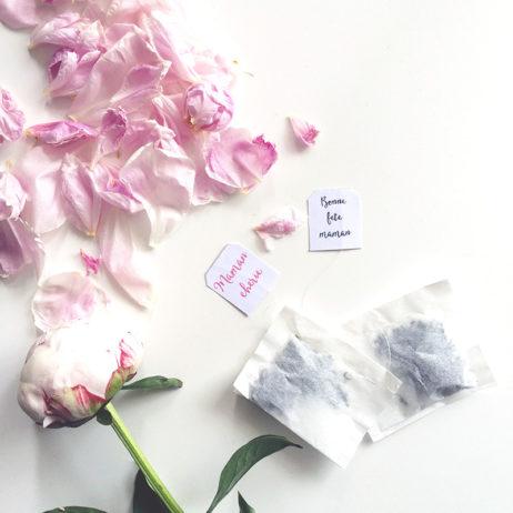 DIY #20 // Des sachets de thé personnalisés pour la fête des mères + étiquettes printable