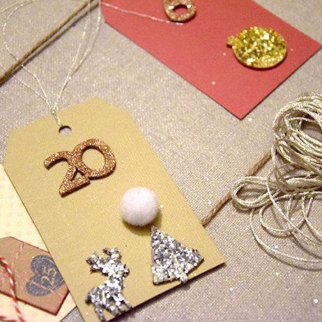 DIY #4 // Déco de Noël : Un calendrier de l'avent avec de jolies citations