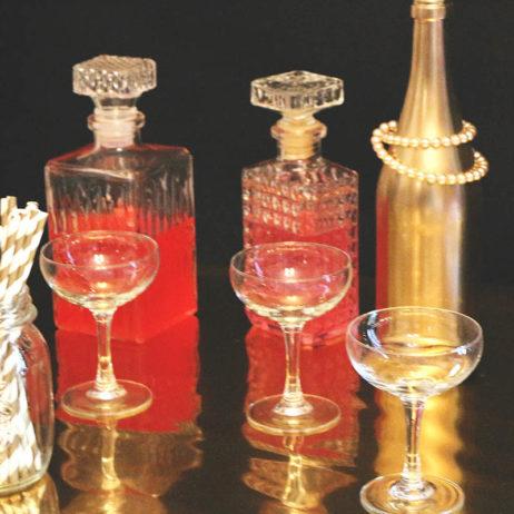 Gatsby Party #3 // DIY vodka Malabar & Tagada