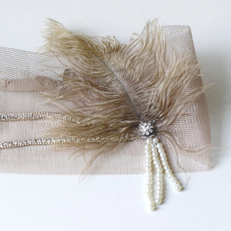 Gatsby Party #8 // DIY : headband années 20