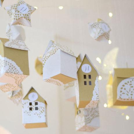 DIY #24 // Noël : calendrier de l'Avent dans les étoiles
