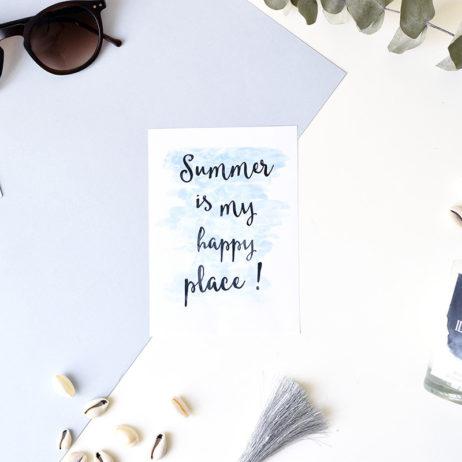 Le summer mantra !