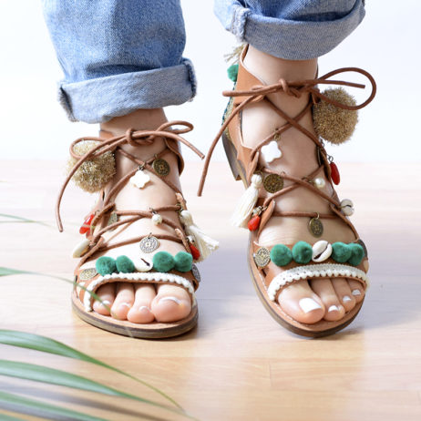 DIY des chaussures boho
