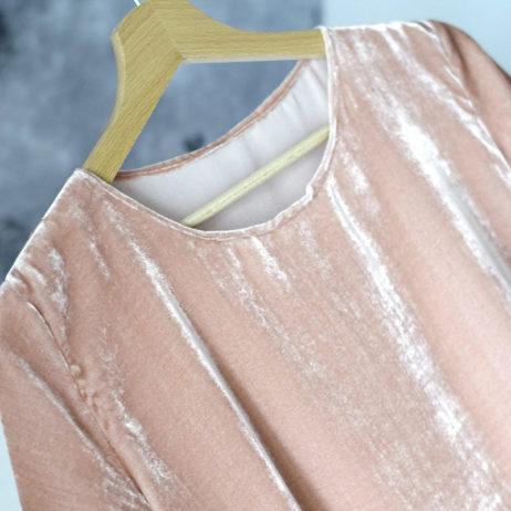 Couture : DIY top en velours