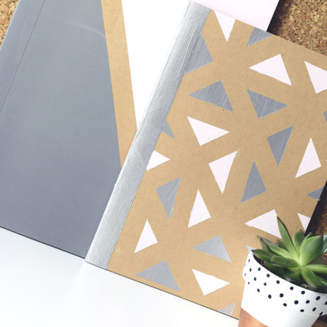 Papeterie : DIY carnets de notes graphiques