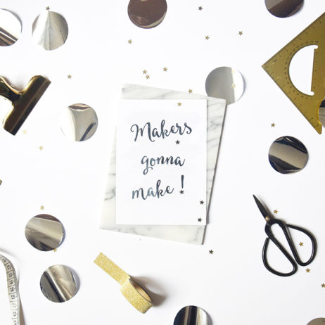 Makers gonna make : le mantra de novembre !