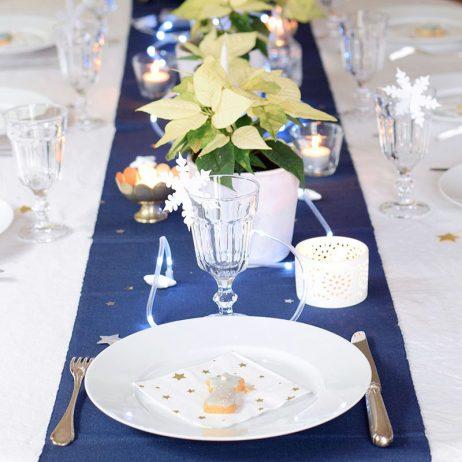 Ma table de Noël cosmique