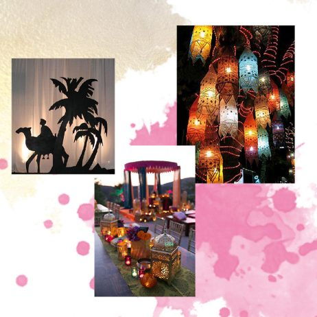 Mood board 1001 nuits Party