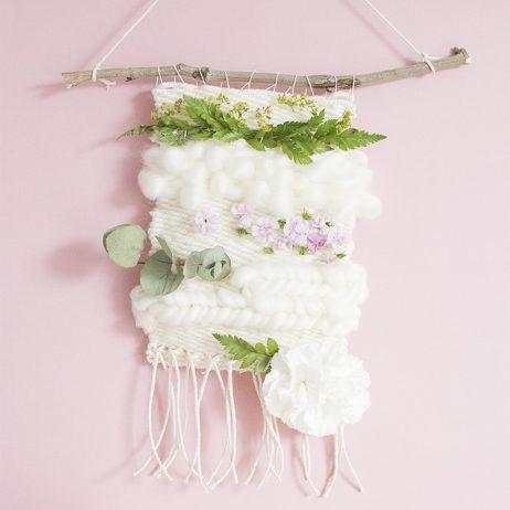 DIY tissage végétal