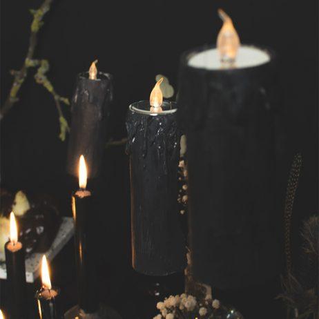 DIY d'Halloween : les bougies flottantes