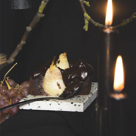 DIY : la recette du fondant chocolat poires