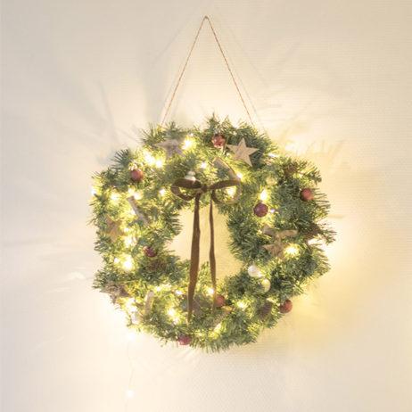 DIY de la couronne de Noël express