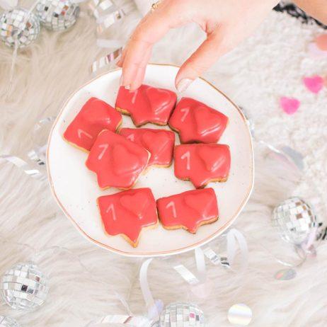 DIY food : sablés Instagram
