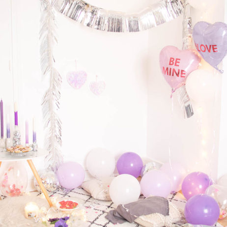 Inspiration déco de fête : Purple Love Party !