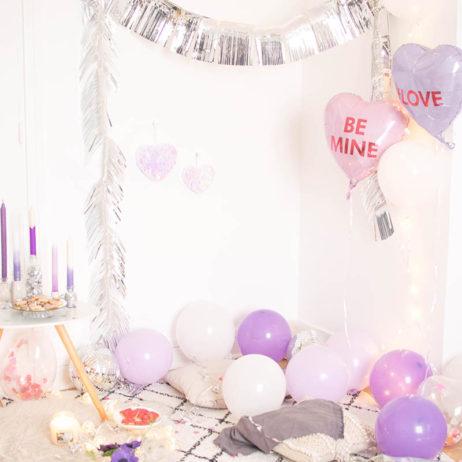 Inspiration déco de fête : Purple Love Party !