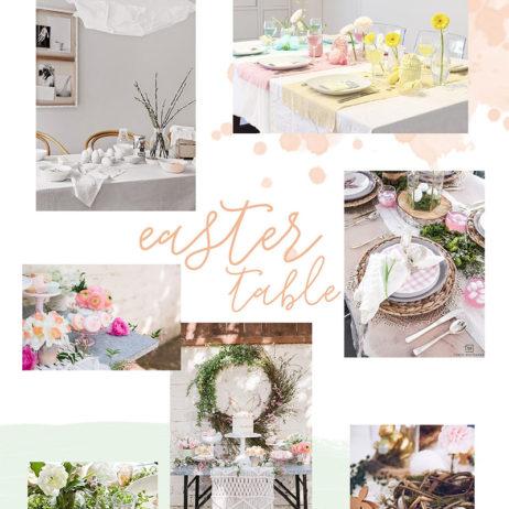 Inspirations Pâques 2018 : 10 tables repérées sur Pinterest