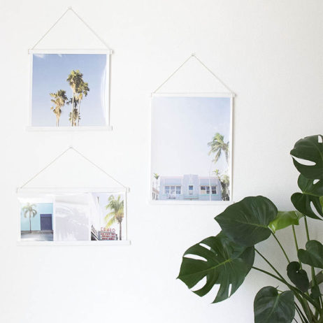 DIY déco : un mur d'affiches design