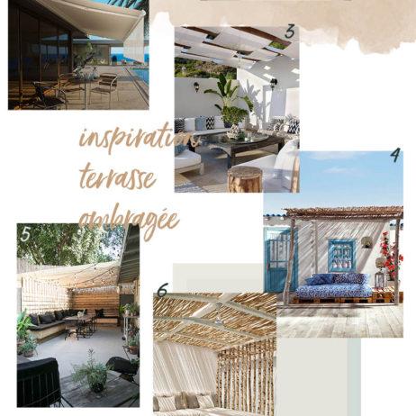 Moodboard déco : 10 inspirations pour une terrasse ombragée