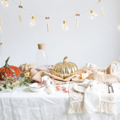 DIY : ma table d'automne (et d'Halloween !)