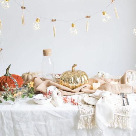 DIY : ma table d'automne (et d'Halloween !)
