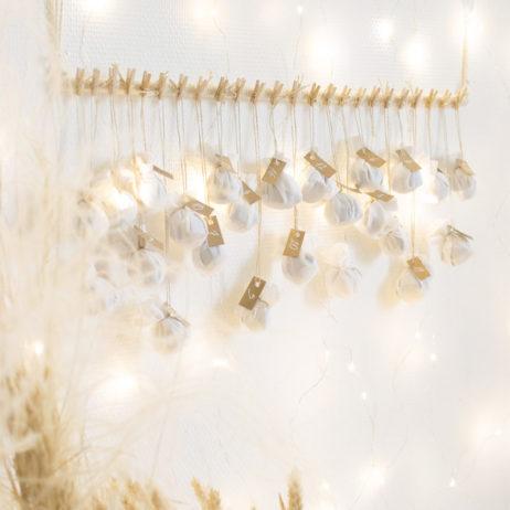 DIY de Noël : mon calendrier de l'Avent bohème