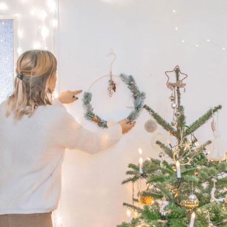 DIY de Noël : la couronne de Noël bohème