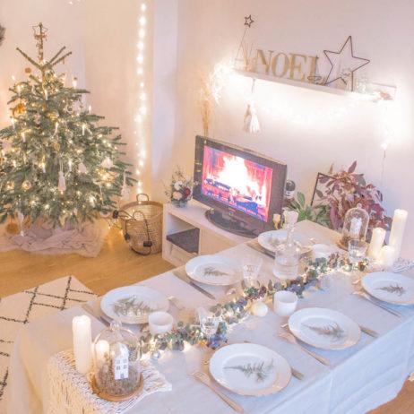 DIY déco : une table de Noël bohème
