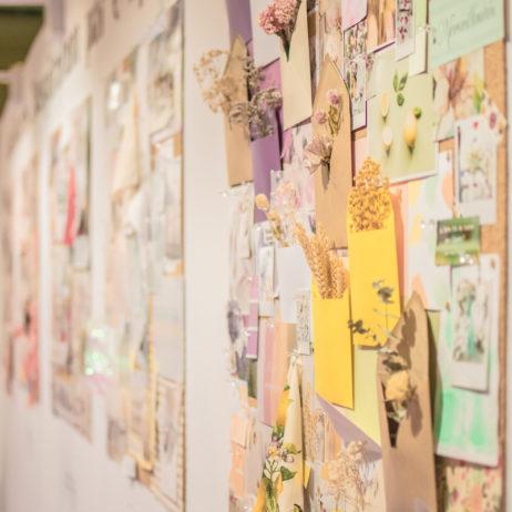 Moodboards d'inspiration par C by Clémence : mon exposition au salon Créations et Savoir-Faire Printemps