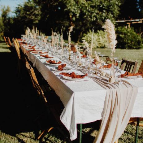 Mariage : la déco de notre mariage bohème – Californien