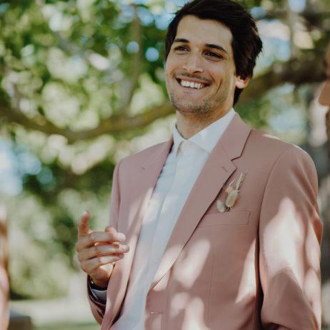 Mariage : la tenue de marié de Malik